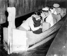 In The Tunnel of Love, Riverview Amusement Park, Chicago, 1943