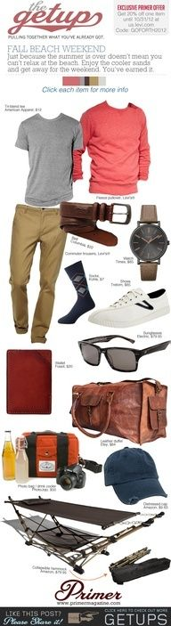 The Getup: Fall Beach Weekend