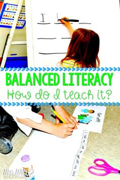 Teaching balanced literacy in a K-2 classroom. Guided reading, interactive writing, and more! #balancedliteracy #reading #writing