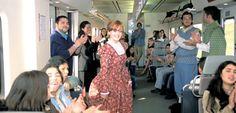 De Madrid a Alcalá de Henares en el Tren de Cervantes