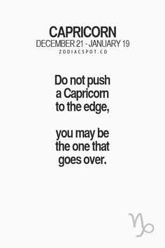 Daily Horoscope - Read more about your Zodiac sign here ZodiacSpot Your all-in-one source for Astrology Daily Horoscope 2017 Description Read more about your Zodiac sign here Capricorn Quotes, Capricorn Facts, Zodiac Signs Capricorn, Zodiac Quotes, Astrology Zodiac, Astrology Signs, Capricorn Qualities, Capricorn Characteristics, All About Capricorn