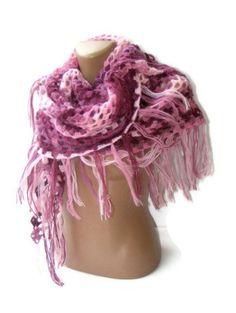 purple shawl on etsy
