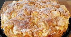 Zutaten :  -125 g Margarine oder Butter, weiche  -125 g Zucker  -3 Eier  -1/2 Pck Backpulver  -250 g Mehl  -1 1/2 kg Äpfel, geschält...