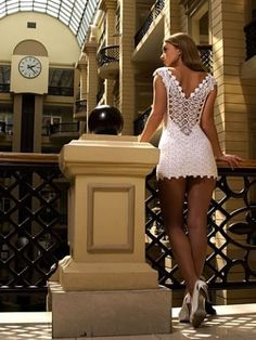 Outstanding Crochet: Wedding Crochet Dresses.