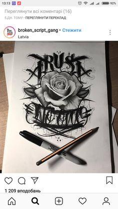 Ink – Graffiti World Tattoo Lettering Styles, Chicano Lettering, Tattoo Script, Badass Tattoos, Body Art Tattoos, Tatoos, Graffiti Tattoo, Graffiti Lettering, Tattoo Sketches
