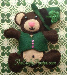 St. Patrick's Day Bear & Pattern – The Crafty Tipster