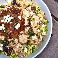 Zoes Kitchen Chicken Kabob zoe's kitchen tossed greek salad -- lettuce, cucumbers