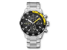 Check out this amazing IWC Men's GTS SS AQUATIMR CHRNO BRC Watch!!