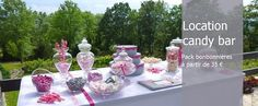 STAND-PARTY decoration de mariage, candy bar, cabine photo booth