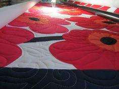Marimekko whole cloth quilt