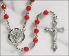 Faceted Confirmation Rosary | My Brother's Keeper Catholic Gift Shop