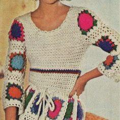 #Vintage #crochet pattern