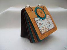 Calendar book with rings - bjl