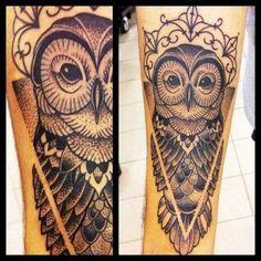awesome arm owl tattoos - Buscar con Google