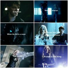 The Queen protects the King  Savitar and Killer Frost