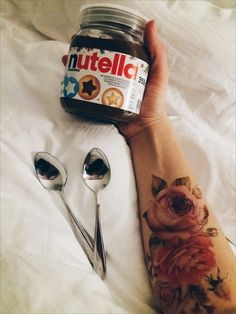 Best morning with nutella ♡