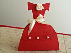 Set of 7 Red Princess Favor Boxes, Princess Dress Gift Boxes by SweetBoxshop on Etsy