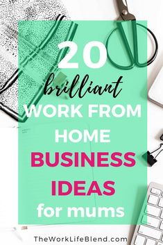 Check out this list of 20 work from home business ideas that are perfect for mums. It can be really hard to come up with work at home business ideas but I hope this post will give you some inspiration. work from home Business Ideas Uk, Work From Home Business, Work From Home Tips, Starting Your Own Business, Make Money From Home, Online Business, How To Make Money, Business Marketing, Business Opportunities