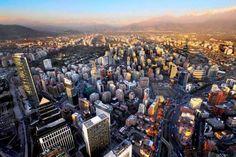 Mirante mais alta da America do Sul - Chile