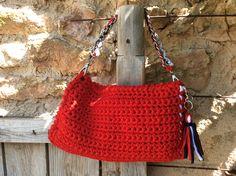aa39c13d6 88 mejores imágenes de Bolsas y bolsos | Jean bag, Tejidos y Backpacks