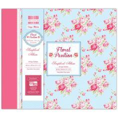 First Edition Floral Pavilion Scrapbook Album 12 X 12 | Hobbycraft