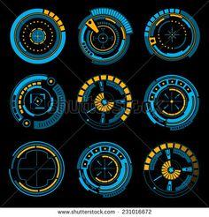 Abstract future, concept vector futuristic blue virtual graphic touch user interface HUD set, 20 x EPS Ios Design, Mobile Ui Design, Game Ui Design, Layout Design, Game Interface, User Interface Design, Interaction Design, Design Thinking, Portfolio Design