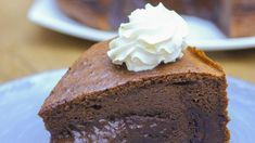 Soft and delicious: how to prepare a double chocolate castella cake