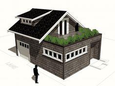 Salt Spring Island laneway house designInspired Home Design