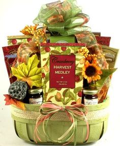 Harvest Medley Gourmet Fall Thanksgiving Gift Basket >>> Be sure to check out this awesome product affiliate link Amazon.com