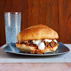 Thanksgiving means football! Sloppy Moussakas are fun twist on sloppy joes, and a great game day dish!