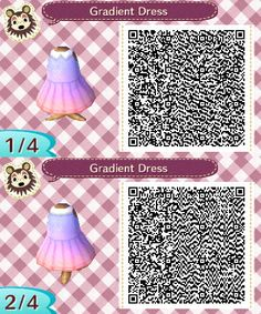 Gradient Dress More patterns here.