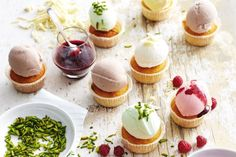 The kids will love this combination of their two favourite desserts - cupcakes…