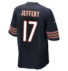 Chicago Bears! Excited to see Alshon Jeffery take the field in his #17 jersey this season!