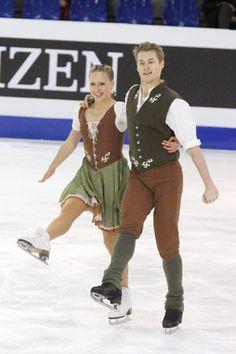 2010 WJC Stefanie FROHBERG Tim GIESEN.