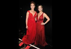 Elisabeth Rohm and Jeannette Torres-Alvarez - The Heart Truth's Red Dress Collection 2012 Fashion Show