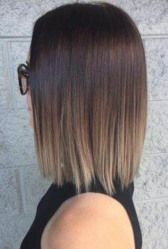 """30 Best Short Ombre Hair Color Inspirations for 2019, 1. Trendy Bean Ombre's trend coloring, which came into fashion several seasons ago, beats all records in popularity. From French, """"ombre"""" is translate..., Hair Color"""