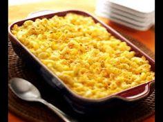 Macarrones con Queso o Macaroni and Cheese Autentica Receta Americana - YouTube