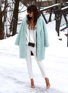 Cómo combinar unos pantalones pitillo blancos en 2017 (79 formas) | Moda para Mujer