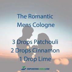 essential oil cologne blends for men. Ditch the chemical cologne and try these blends of essential oils in a roller bottle for men.