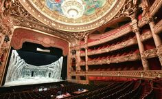 The discovery of a mysterious apartment (and, by some accounts, a male corpse) in the Palais Garnier inspired the novel The Phantom of the Opera, which in turn inspired Andrew Lloyd Webber's smash musical. (From: Photos: 10 Haunted Theaters)