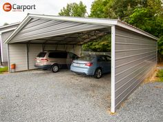 Place your order for this 30'W x 31'L x 8'H steel carport with a down payment of just $922! Total price as described starts at $5760 (plus tax). Call 866-311-0822 & mention item: TWC30318 to get your own personalized quote today! #Carport #MetalBuilding #SteelStructure Steel Carports, Metal Buildings, Steel Structure, Metal Roof, Barns, Shed, Garage, New Homes, Things To Come