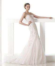 Mermaid Wedding Dresses 2015 Pronovias Style MADDIE [Pronovias MADDIE] pronovias maddie