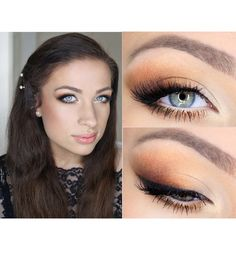 Makeup: Prom Make Up for Blue Eyes by Catherine G.