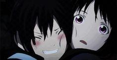 Yato is pleased that hiyori remembers him again