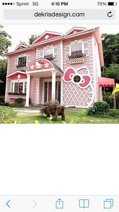 Hello kitty house