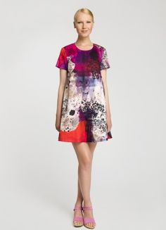 SHIFT DRESS // Love this print from Marimekko