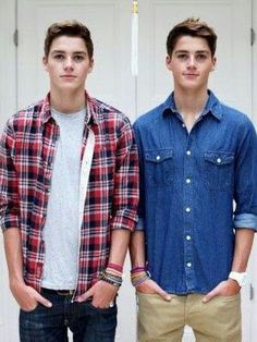 Jack and Finn Harries as Connor And Travis Stoll< That. That is literally perfection.
