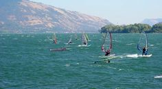 Best places in WA o windsurf windsurfing Washington Oregon