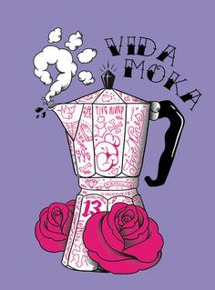 Various works jan/may 2010 by Rubens Cantuni, via Behance Coffee Love, Coffee Art, Coffee Break, Coffee Illustration, Illustration Art, Coffee World, Coffee Poster, Fun Cup, Graphic Design Branding