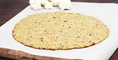 Aprenda a fazer massa de couve-flor e brócolis para a pizza